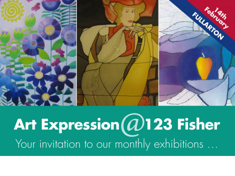 Your invitation to our monthly exhibitions