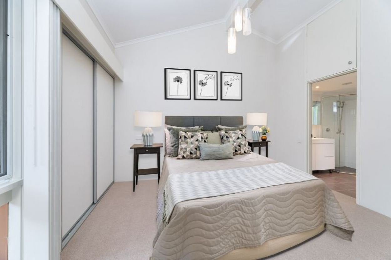 Quality renovation and charming setting beckons retirees
