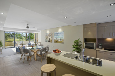 Low maintenance living with every convenience at your fingertips