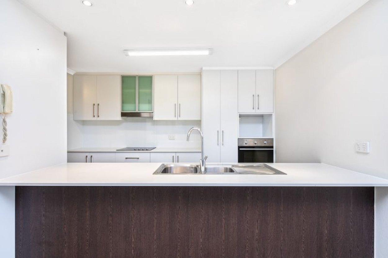 Enviable unit offers as-new presentation and idyllic location