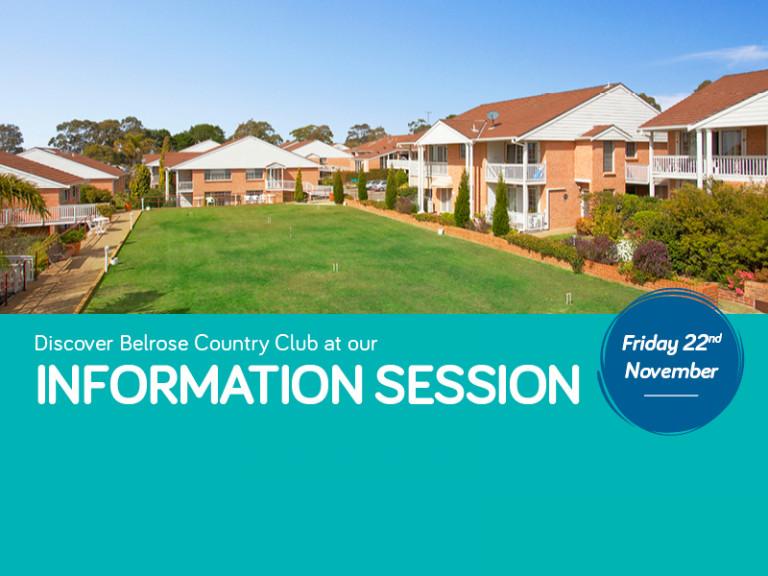 Belrose Information Session
