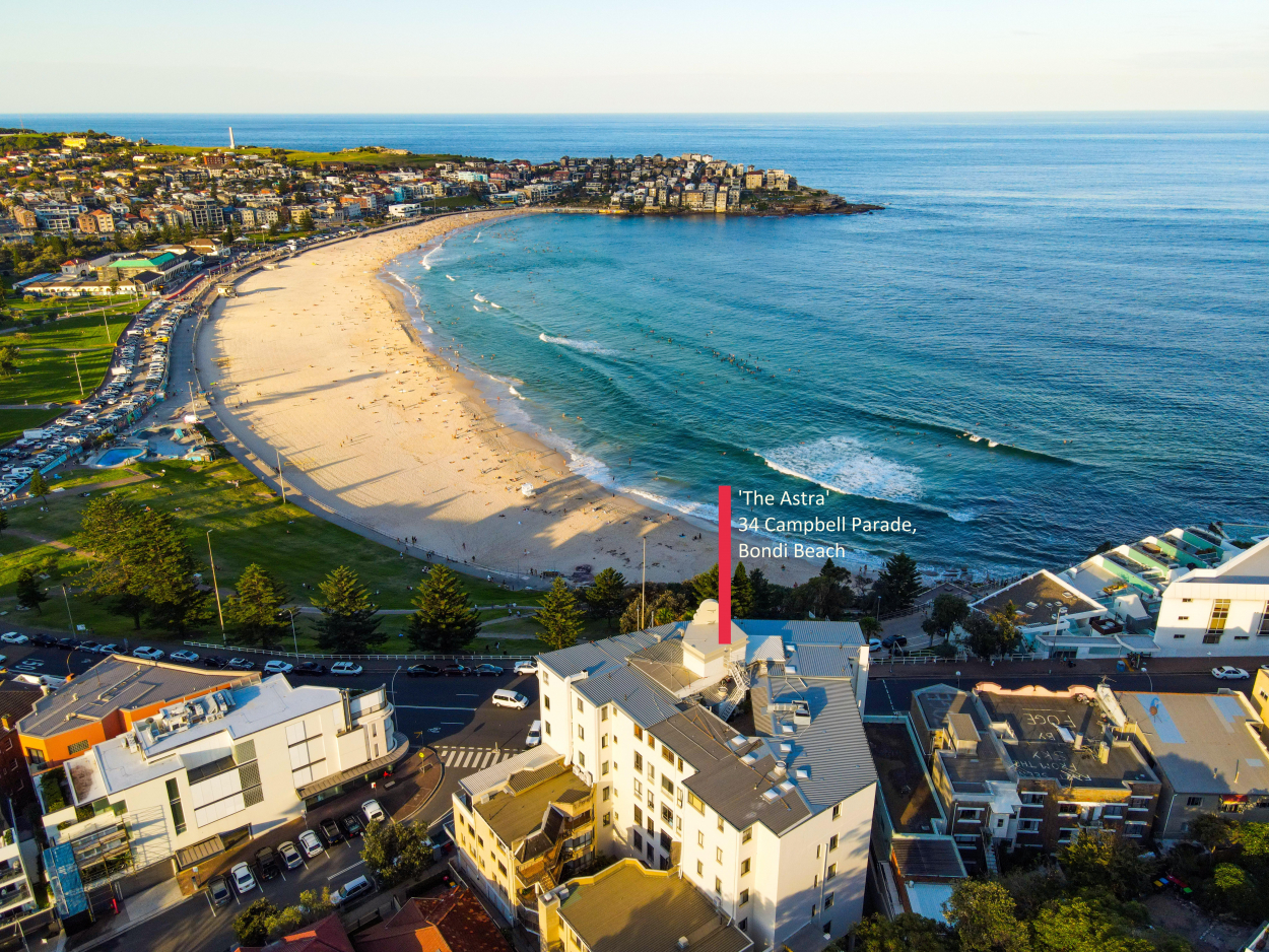 Exclusive Coastal Retirement Strata Apartment For The Over 55s 1st Floor 34 Campbell Parade - Bondi Beach 2026 Retirement Property for Sale