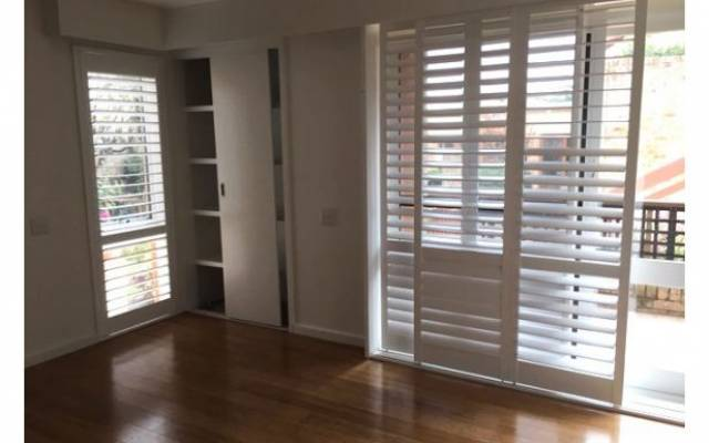 Wooden floors and shutters