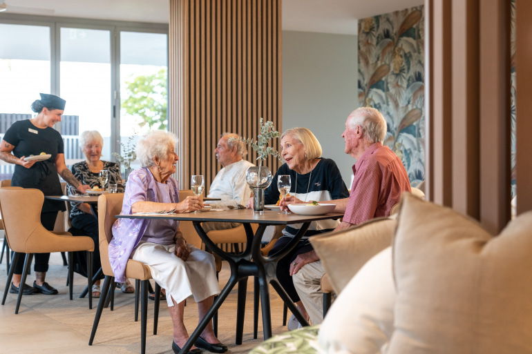 Inside Australia's hotel-like luxury care villages catering for the demanding Baby Boomer generation