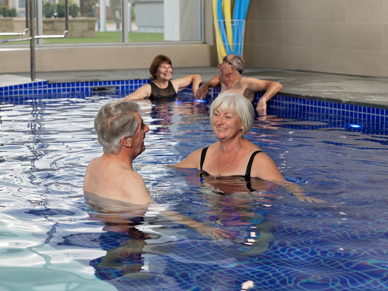 Resort style retirement - Multi-million dollar leisure centre