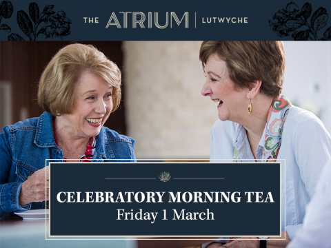 Celebratory morning tea | The Atrium Lutwyche
