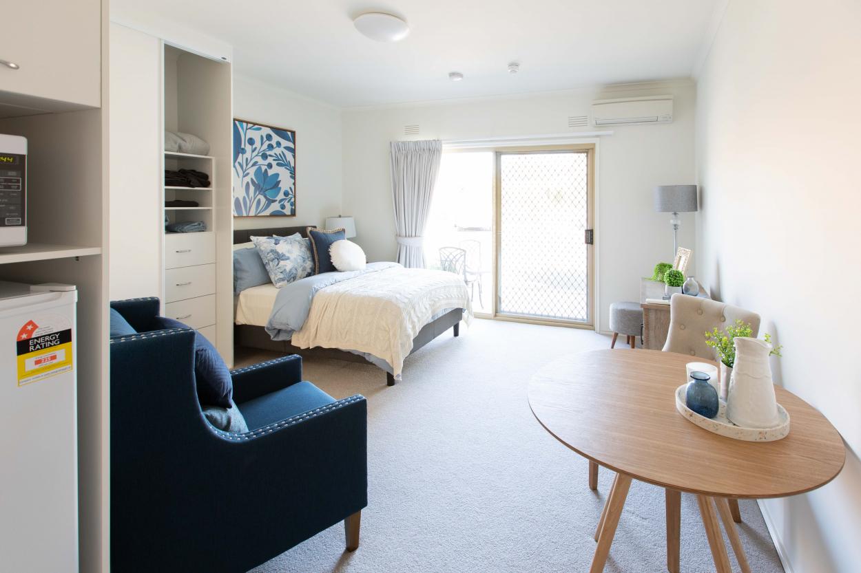 Stylish studio serviced apartments - Templestowe Village  29 Fitzsimons Lane - Templestowe 3106 Retirement Property for Sale