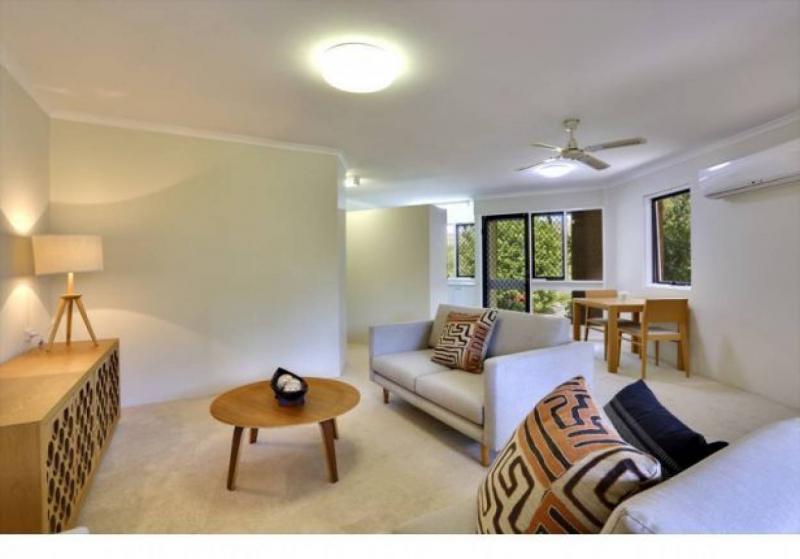 Open plan living with an abundance of natural light