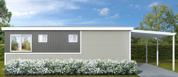 New Two Bedroom Home with Huge Rear Deck