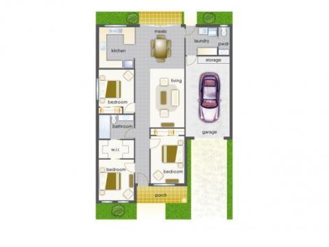 Villa 24 - Mountain View Leongatha - 3 Bedroom Single Garage