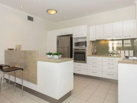 Perfectly located, two bedroom, two bathroom apartment