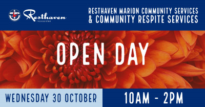 OPEN DAY - 30th October 10 AM to 2 PM - FREE EVENT