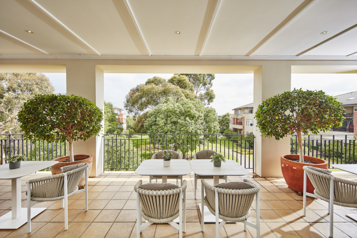 Retire in style in this beautiful East facing home with garden views.