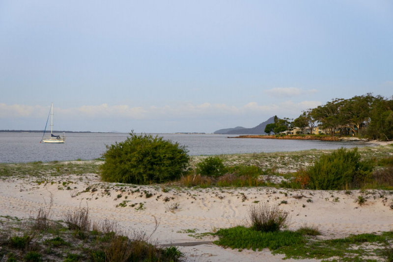 Coastal living in pristine Salamander Bay