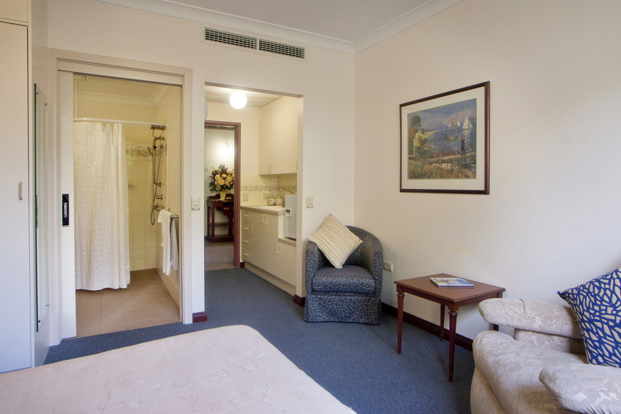 Superior Single Room now available at Resthaven Malvern!