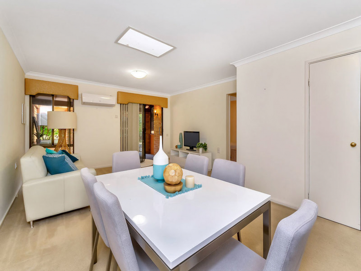 Delightful location in the heart of the village