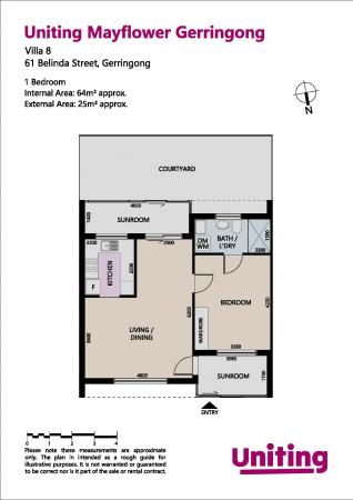 1 Bedroom Villa in Scenic Gerringong 8 61 Belinda Street - Gerringong 2534 Retirement Property for Sale