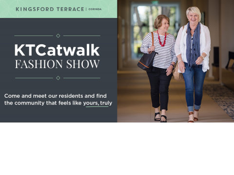 KTCatwalk fashion show | Kingsford Terrace Corinda