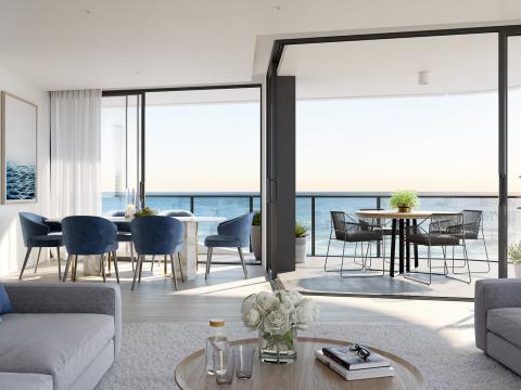 A Unique Apartment Designed for a Unique Location