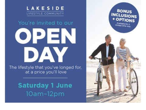 Lakeside Lifestyle Community Open Day