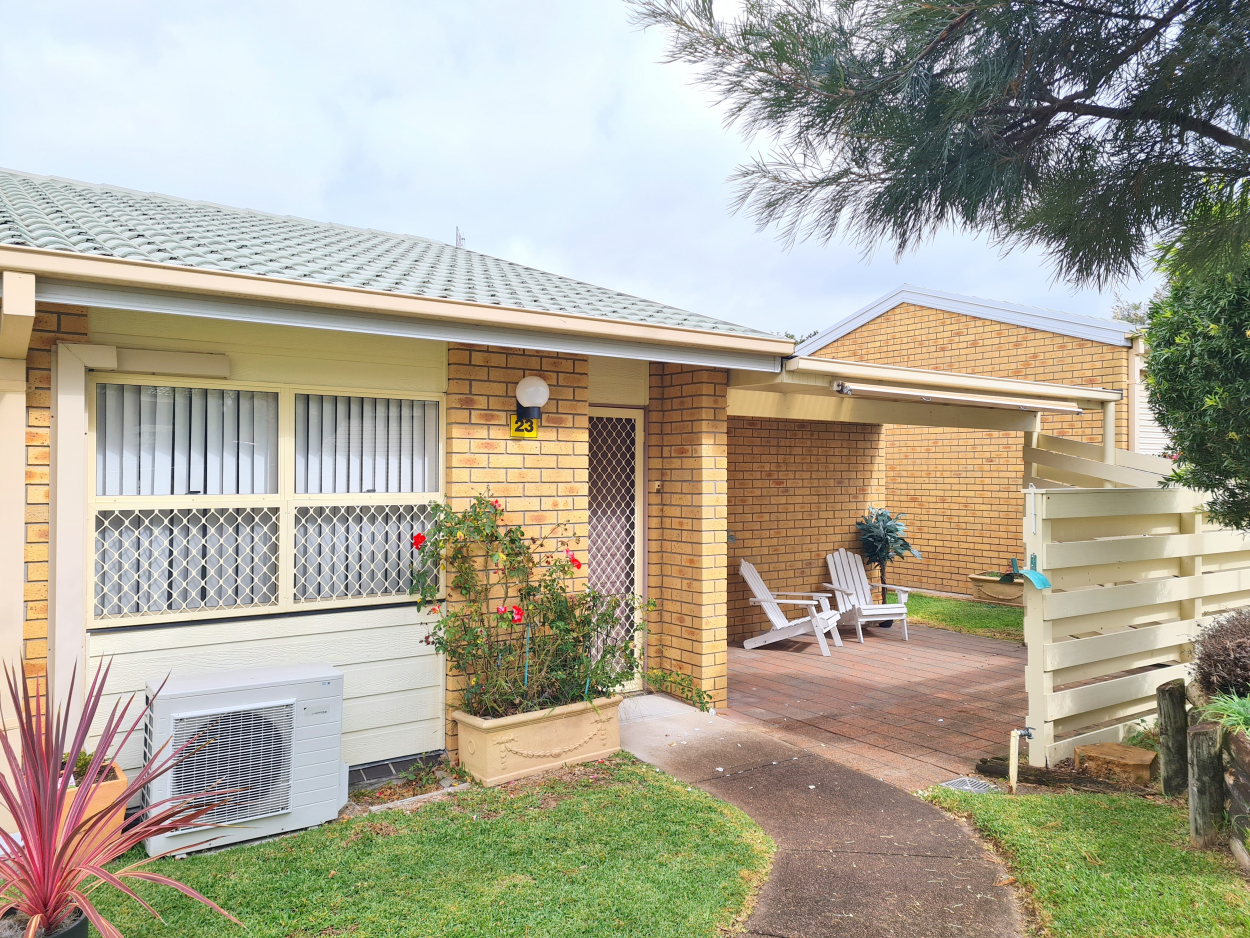 Refurbished 2 Bedroom Villa with Excellent Privacy 23, 120  Redhead Road - Redhead 2290 Retirement Property for Sale